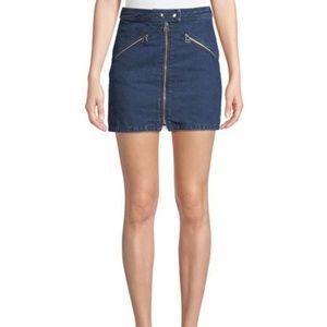 Denim Racer Miniskirt by Rag & Bone